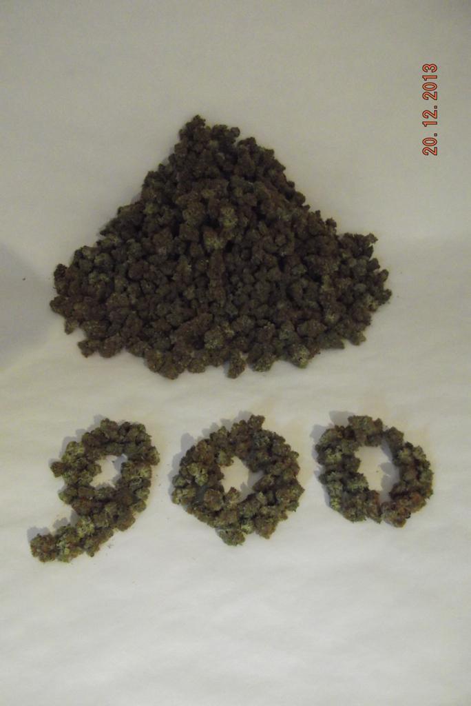 900g harvest